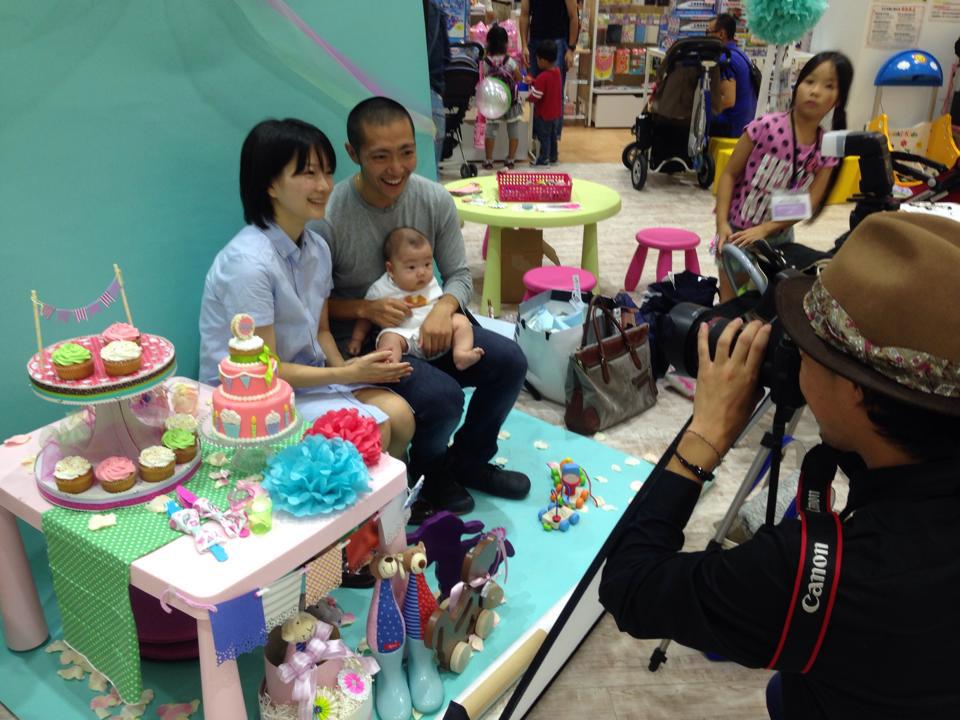 プロカメラマンによる親子撮影会